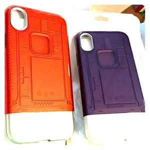 New IPhone XR Phone cases.  Purple or red.